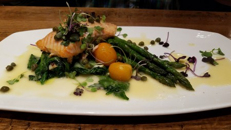 Taverna6 Salmon Piccata