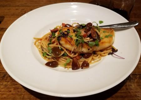 Taverna7 Sea Bass Puttanesca