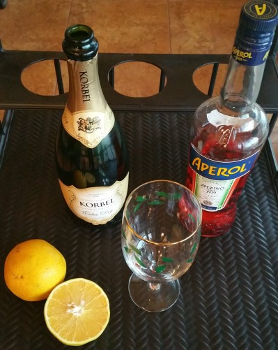 Aperol Spritzer Ingredients