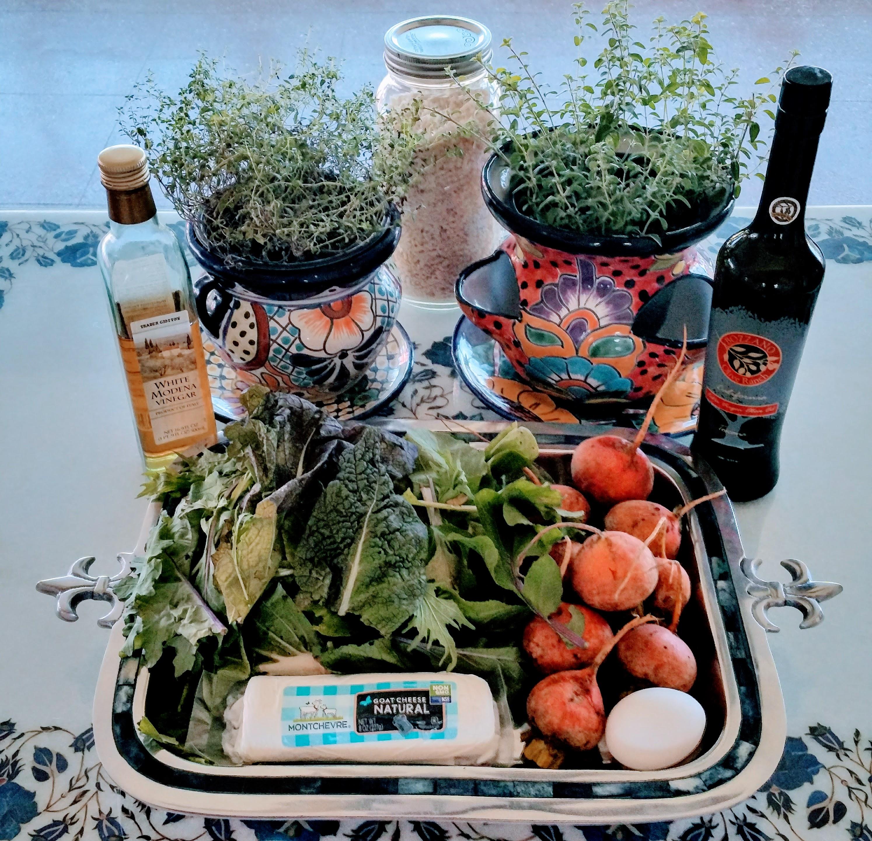Golden Beet Salad Ingredients