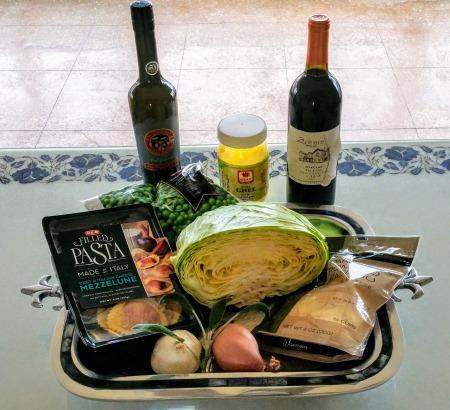 Beet Ravioli Ingredients