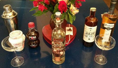 Valentine Martini Ingredients