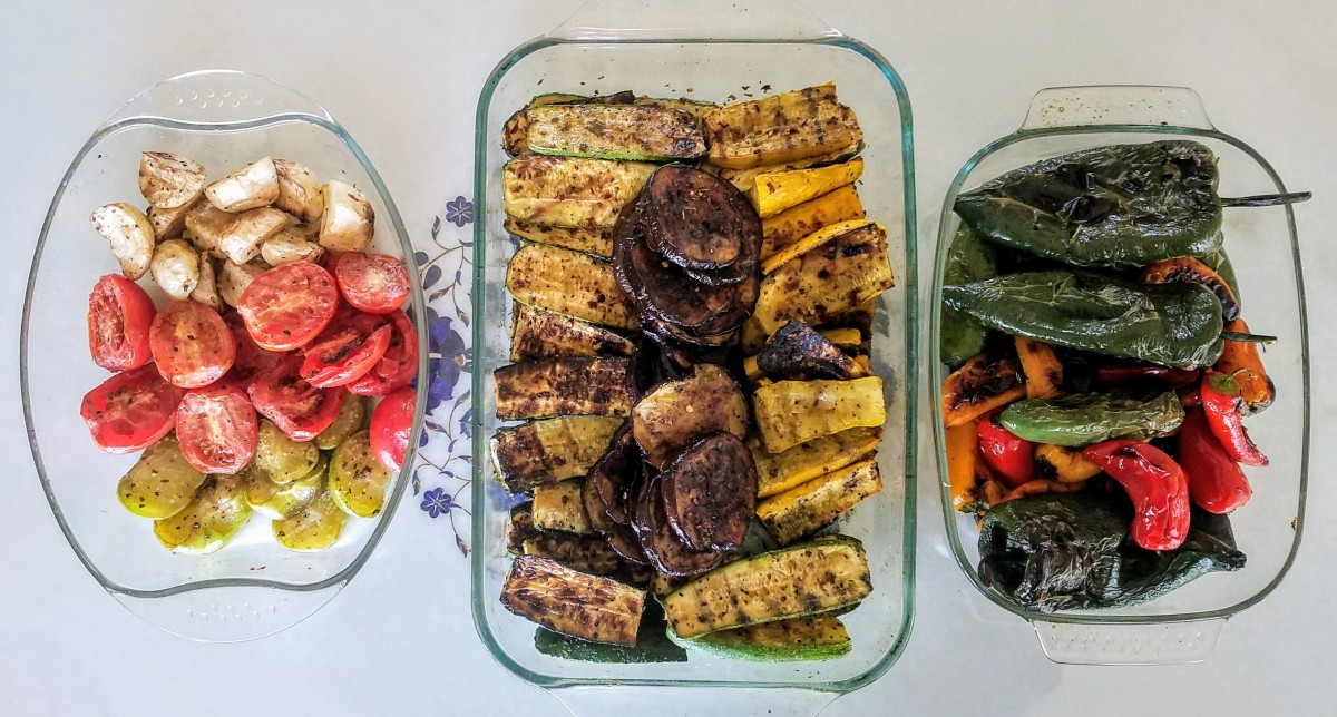 Chargrilled Veggies Stored