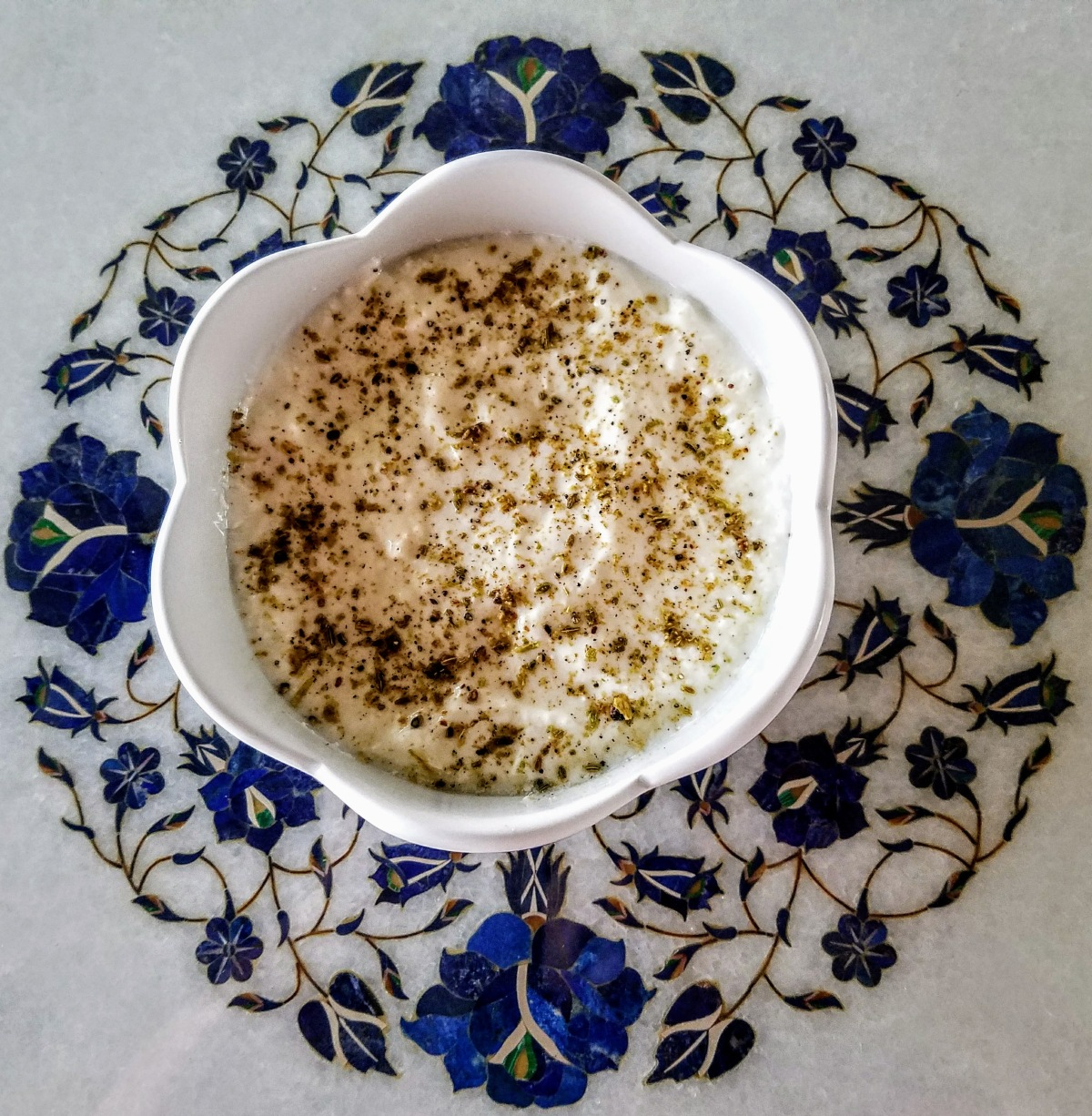 Yogurt Bowl Chai Masala