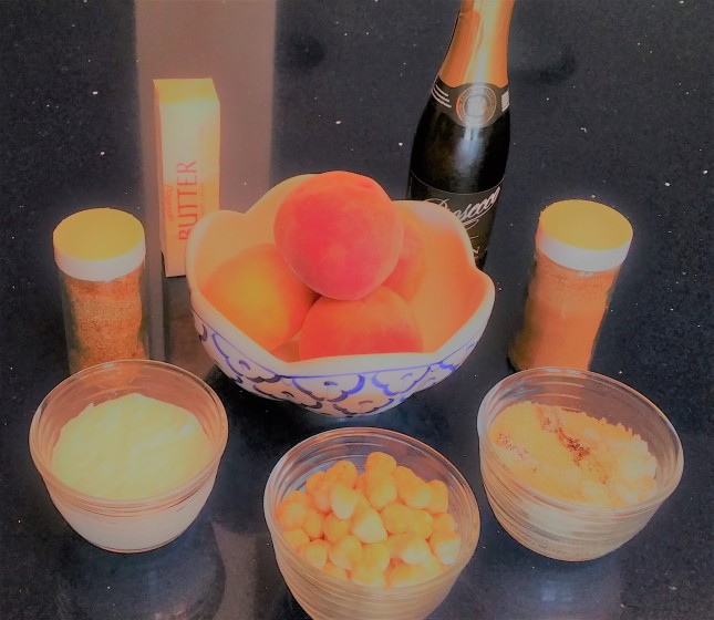 Peach Tarlets Ingredients