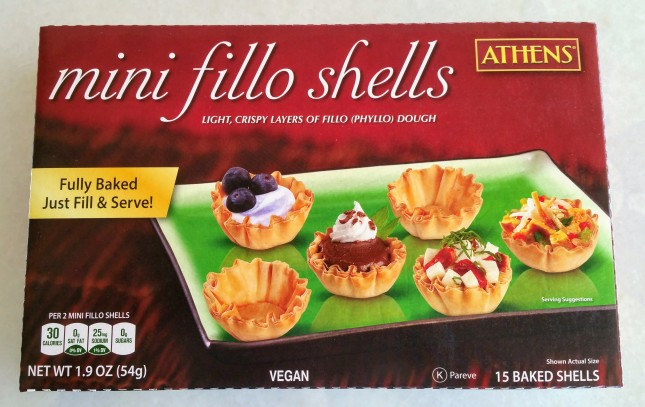 Peach Tartlets Shells
