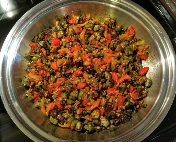 Bhindi Cook 9