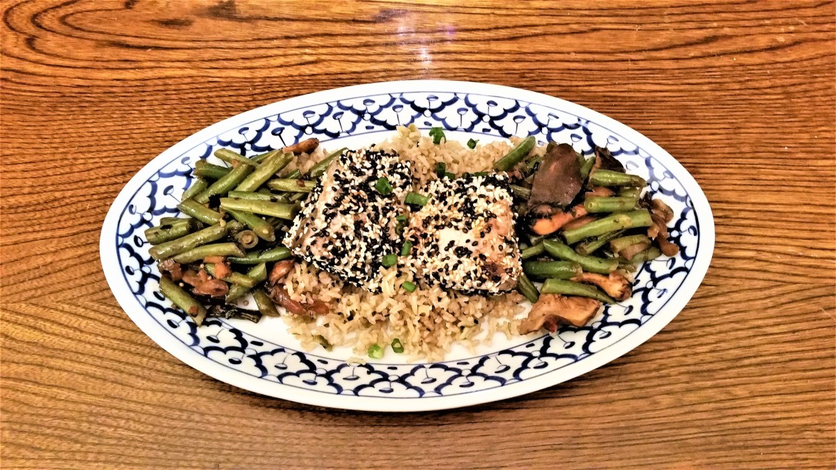 Green Beans & Shiitake Mushrooms Feature