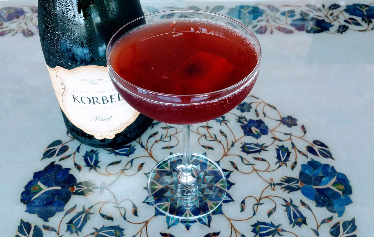 Texan Raspberry 75 Korbel