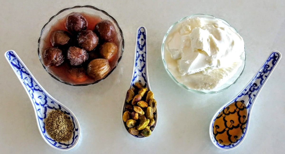 Yogurt Fig Parfait Ingredients