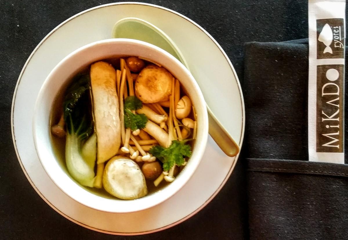 Mikado Mushroom Miso Soup