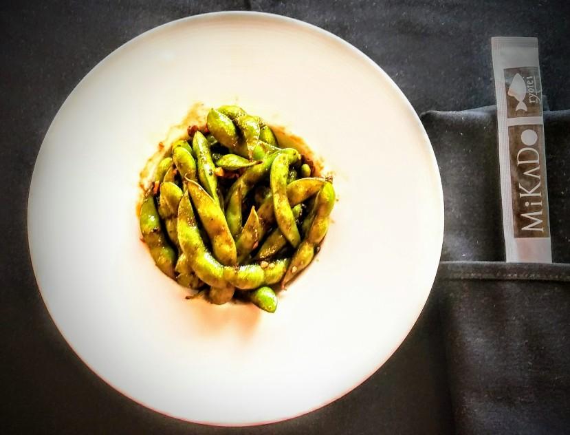Mikado Spicy Garlic Edamame