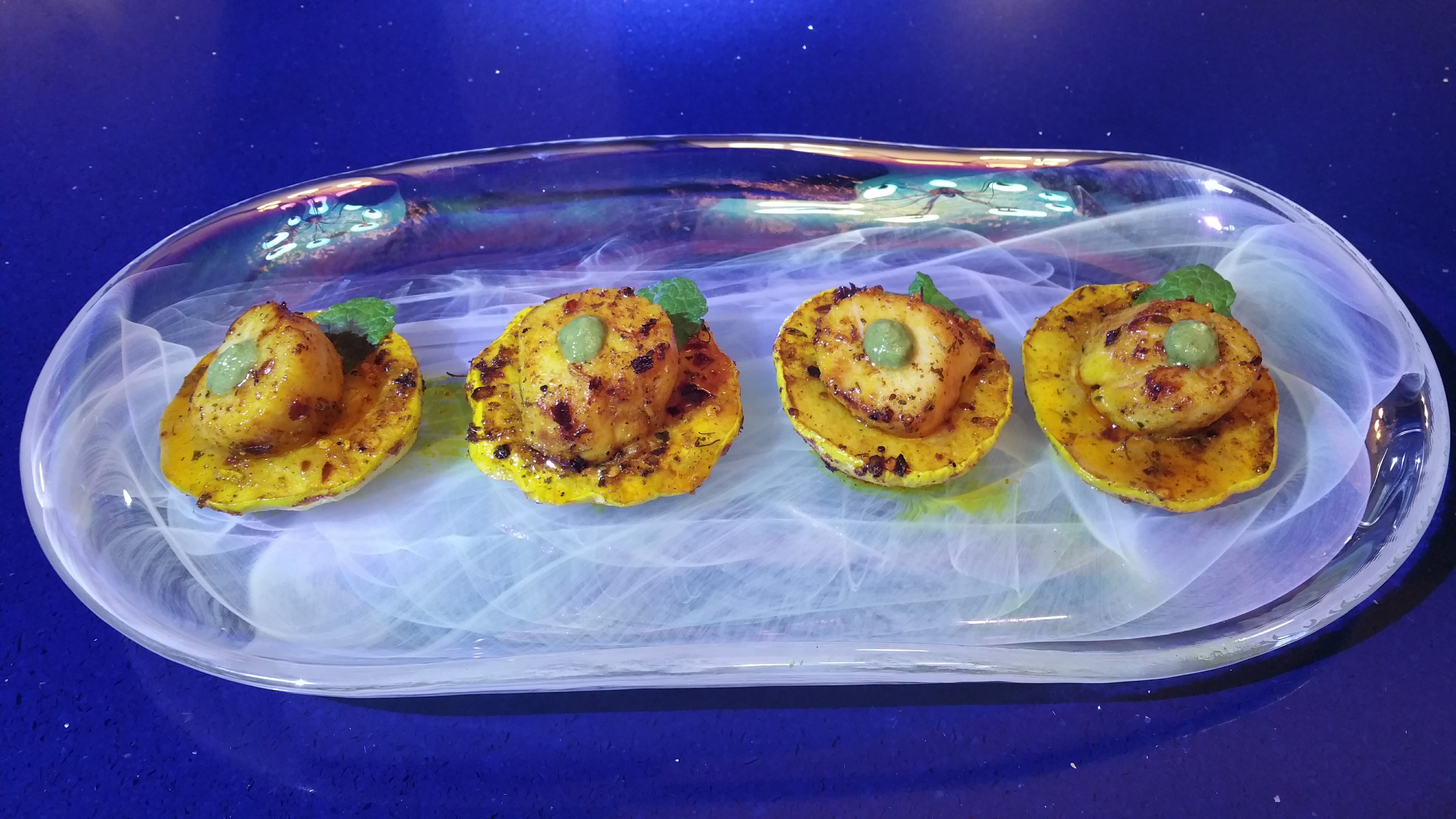 Scallops and Squash Feature