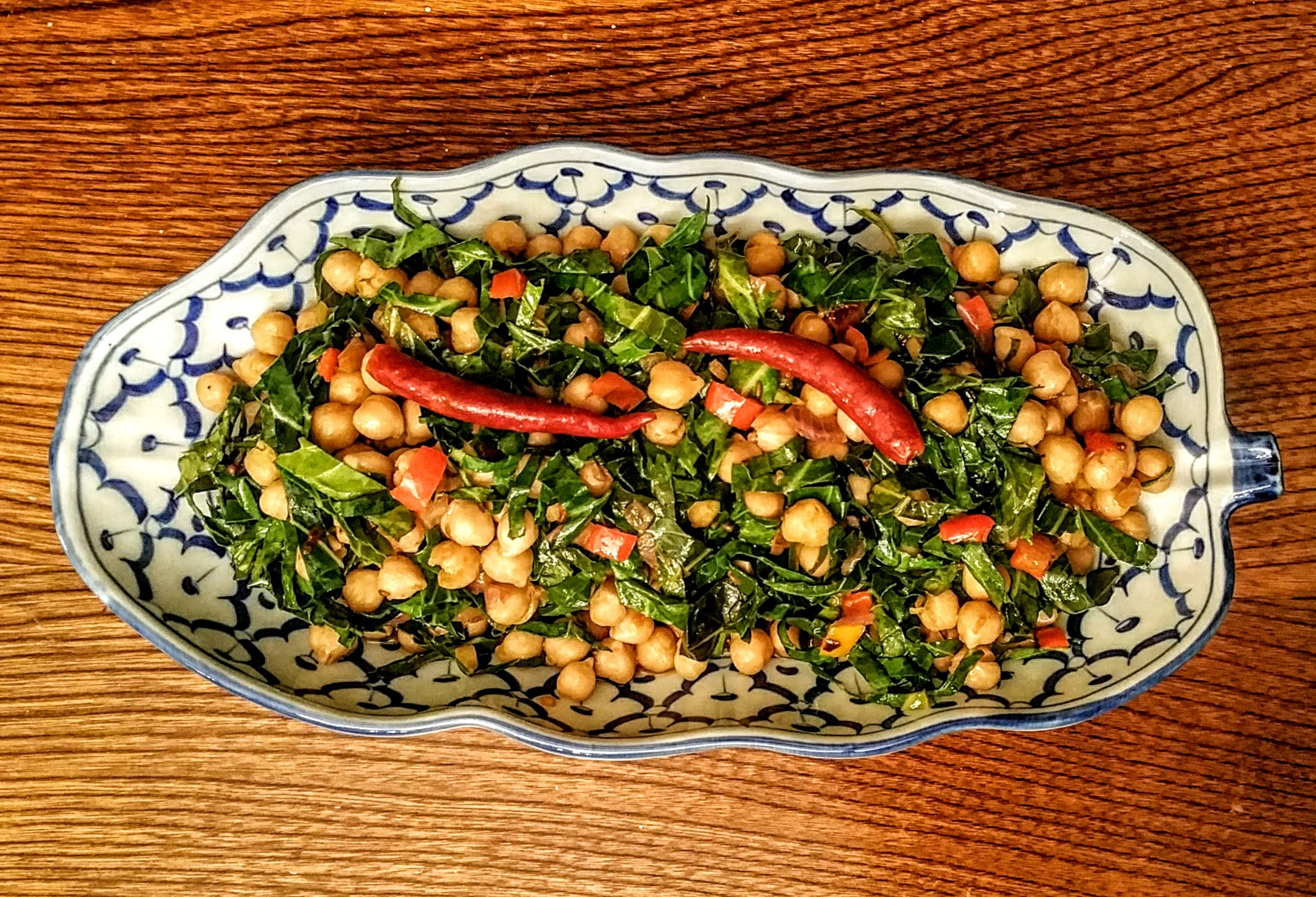 Collard Greens & Chickpea Stew