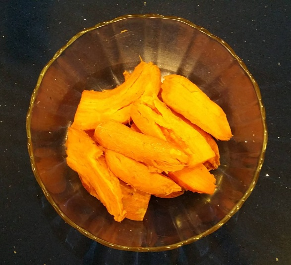 Peeled Roasted Sweet Potatoes
