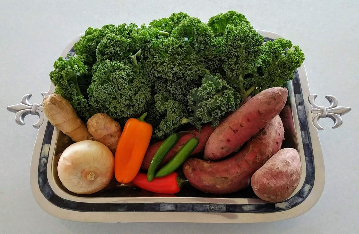 Sweet Potato & Kale Tikkis Ingredients
