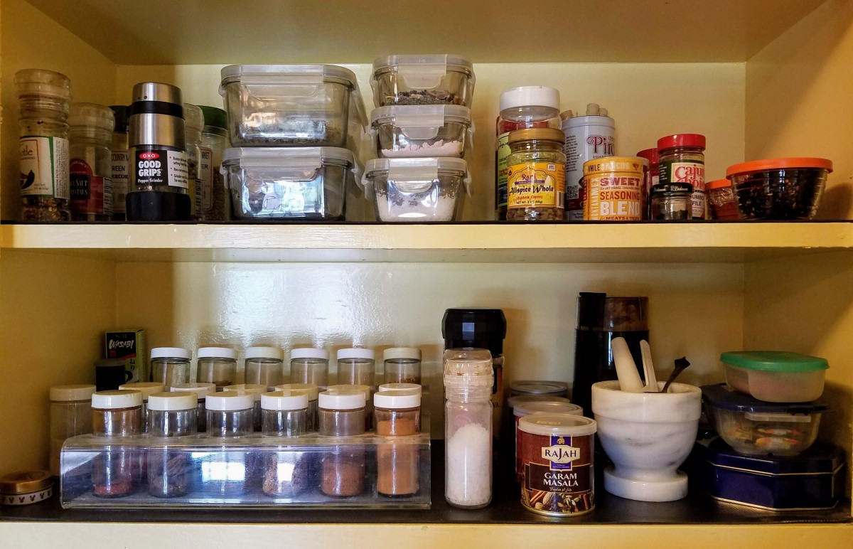 Storing Spices Feature