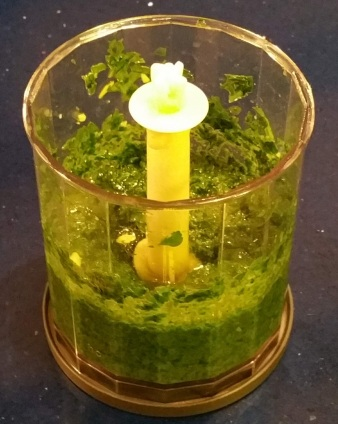 Carrot Tops Pesto 3