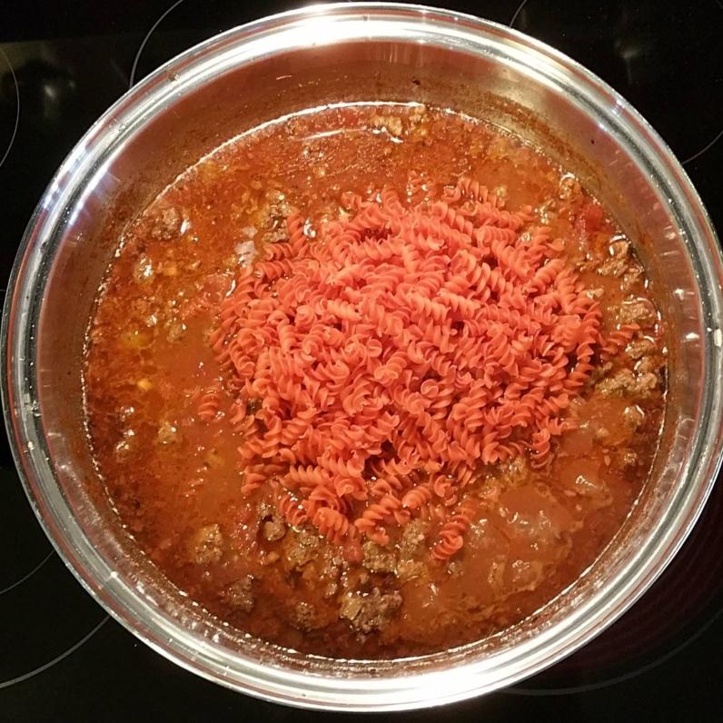Red Lentil Pasta Cook 5