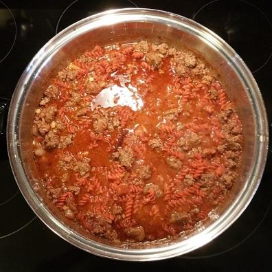 Red Lentil Pasta Cook 6