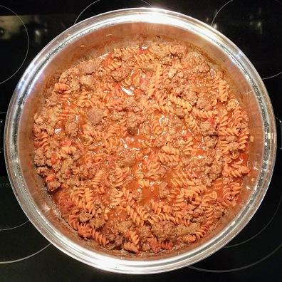 Red Lentil Pasta Cook 7