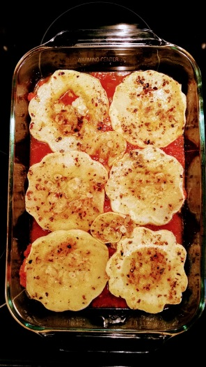 Patty Pan Parm Assembly 2