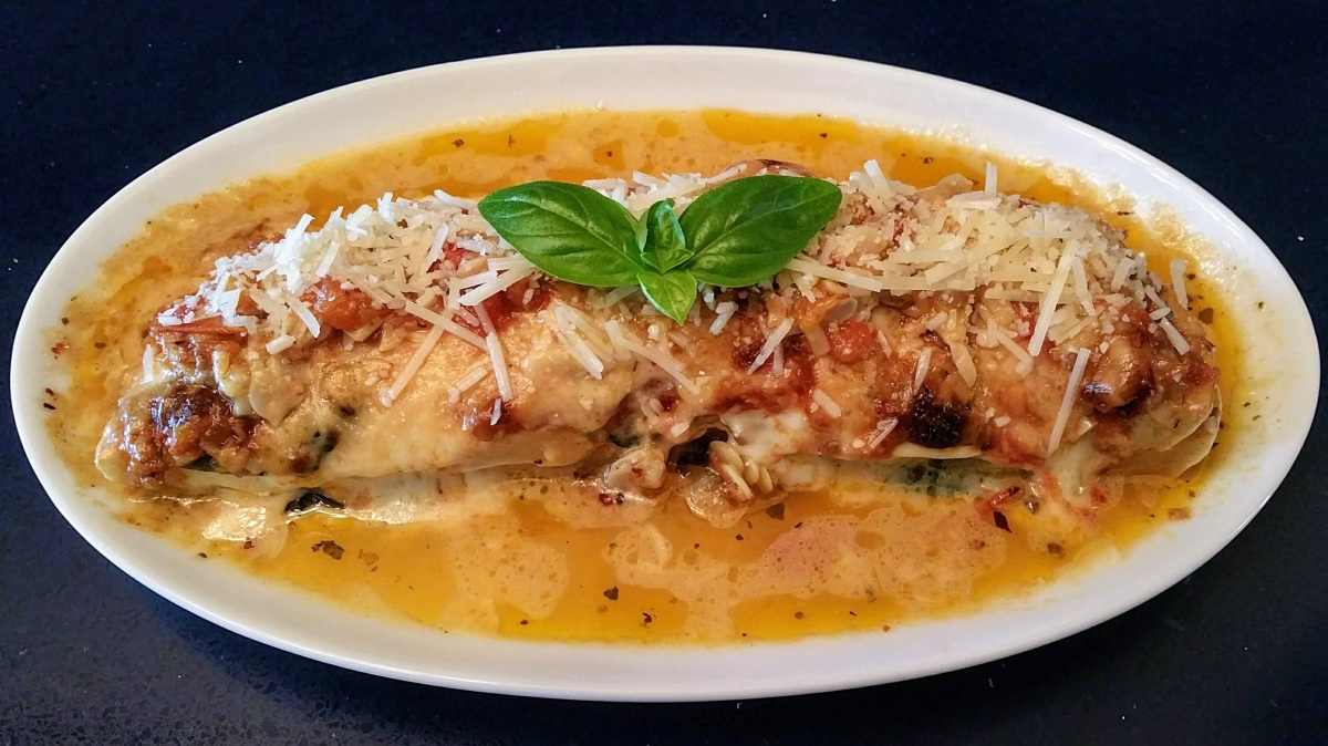 Patty Pan Parmesan Plated Feature